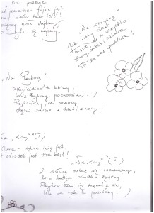 Jak co roku odwiedzili nasz Ośrodek uczniowie i opiekunowie warsztatów: teatralnych, plastycznych i fotograficznych z Gimnazjum im. Polskich Olimpijczyków w Przykonie i tym razem młodzież zostawiła nam na pamiątkę miłe, poetycko napisane słowo. DZIĘKUJEMY :)